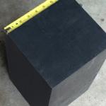 6x12x12 Rubber Block